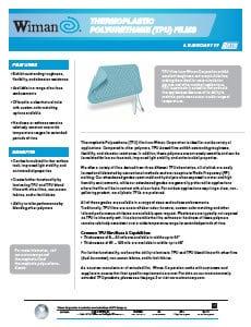 Thermoplastic Polyurethane & Polyurethane Blend Films